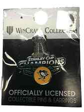 Pittsburgh Penguins 2017 Stanley Cup Champions WinCraft Metal Lapel Pin