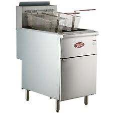 New Commercial 70lb Fryer Frialator Deep Fryer Brand New Natural Gas Etl Nat Gas