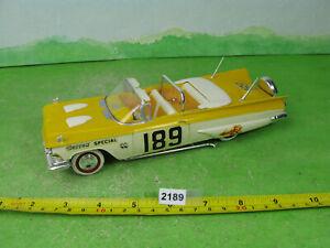 vintage playcraft 1959 buick built 1/25 model kit drag car 2189