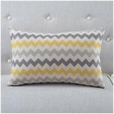 Nordic Style Decorative Pillows Case Yellow Grey Geometric Cushion Cover