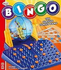 BINGO GAME - TY4605 CLASSIC FAMILY FUN NUMBERS BALLS CARDS REVOLVING CONTAINER