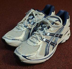 Women's Asics GT-2140 Shoes White Blue Sneakers Running Shoe Size 9 T954N EUC
