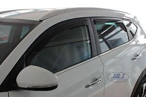 HYUNDAI  TUCSON 5 PORTES 2015-9/2020  Deflecteurs d'air Déflecteurs de vent 4pcs