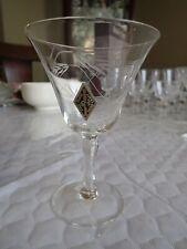 Radio Brand 1 (1) Fine Glass Hand Crafted Japan Wheat Spray Blown Glass
