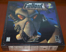 FALLOUT 2 - US VERSION BRAND NEW FACTORY SEALED PC GAME CD-ROM BIG BOX ENGLISH