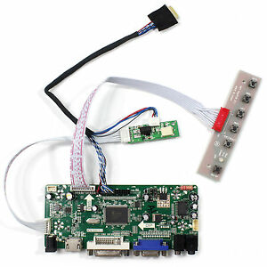 HD MI VGA DVI Audio Controller Board For 9.7inch LTN097XL01 1024X768 LCD Screen
