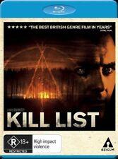 *New & Sealed*  Kill List  (Blu-ray Movie, 2012) R18+  Region B AUS