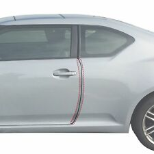 2011-16 fits Scion tc 2pc Invisible Door Edge Guards Pre-Cut Custom Fit Clear