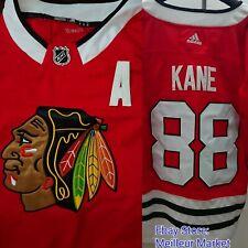 Patrick Kane Adidas Climalite Chicago Blackhawks ALTERNATE CAPTAIN Jersey L 52