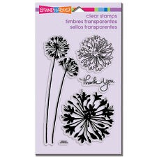 Stampendous Clear Stamps - Agapanthus Thanks - Thank you, Flowers