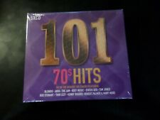 5 DISC CD ALBUM - 101 70'S HITS - NEW AND SEALED - BLONDIE / ABBA / ROXY MUSIC