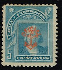 "CHILE 1907 OFFICIAL STAMP # MA14 MH NAVY ""MARINAS"""