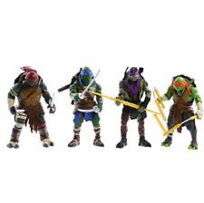 Teenage Mutant Ninja Turtles 4Pcs Lot Tmnt Action Figures Anime Movie Xmas Gift