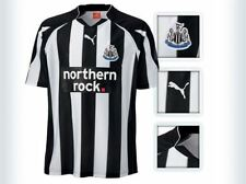 New Newcastle United 2010-11 Puma Black and White Home Football Shirt Boys XL