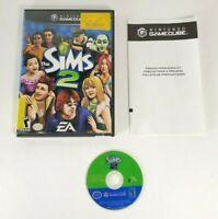 The Sims 2 - NO MANUAL - Nintendo Gamecube 2005 - Simulation Life Game