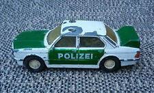 Antigua coche miniatura BMW Serie 5 polizei Partido Box francesa antique