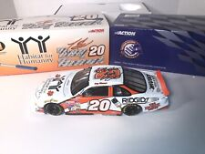 Autographed TONY STEWART 1999 #20 HOME DEPOT HABITAT for HUMANITY 1:18 SCALE