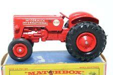 Matchbox Lesney King Size No K-4 International Tractor - England - Boxed NOS