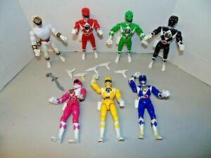 "Bandai Mighty Morphin Power Rangers 8""  Lot 1993"
