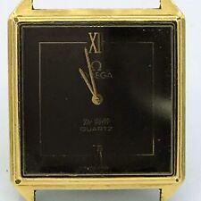 Vintage Omega Swiss 1365 De Ville Quartz 9 Jewel Unadj Mens Wrist Watch
