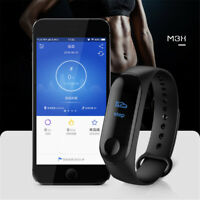 Long Battery Life Smart Band Watch Bracelet Wristband HeartRate Fitness Tracker