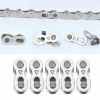 10Pcs Portable Bicycle Chain Master Link Joint Connector 6/8/10 Speed Quick Clip