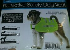 "Reflective Dog Safety Vest /for small size breeds 18""× 13""× 7.5"""