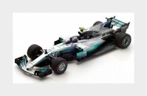 1:43 Spark Mercedes F1 W08 Eq Power+ #77 Winner Austrian Gp 2017 V.Bottas S5048