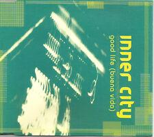 INNER CITY Good Life 2 MIXES & EDIT & INSTRUMENTAL Europe CD single USA seller