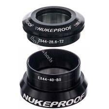 """Nukeproof Warhead 44IETS 44mm Headset Tapered Steerer 1.5"""" - 1.1/8"""" Black"""