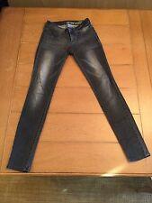 Bullhead Black Denim 55 Legging Pacsun Stretchy Skinny Jeans Size 1 Xs Gray