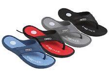 Men's Blue Sandals Flip Flops Thongs Pool Casual Shower Slippers Size 12 Medium