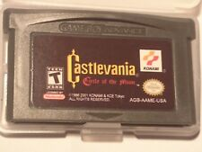 Castlevania- circle of the moon, gameboy advance