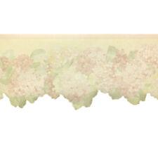 Pastel Hydrangea Flowers, Wallpaper Border (23.5cm wide x 4.57m long)
