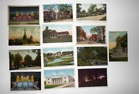 LOT OF 13 JACKSON  MI MICHIGAN POSTCARDS