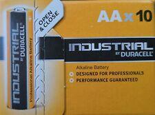 Industrial by Duracell Alkaline Sparpack 10er Pack Mignon LR6 / AA 1,5 V NEU