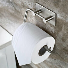 Self Adhesive Toilet Roll Tissue Paper Holder Towel Holder Rail Polished