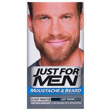 Just for Men Moustache Beard Dye Colour Light Brown Facial Hair Colouring