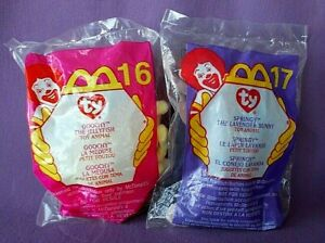MCDONALDS #16 GOOCHY & #17 SPRINGY - BOTH MINT IN SEALED PACKAGES