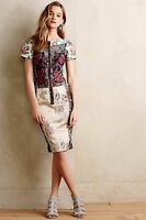 NWT - Byron Lars Pieced Brocade Dress (Anthropologie $268) - Beguile - Size 0