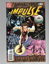 IMPULSE ANNUAL 1 SIGNED BY WAYNE FAUCHER Legends of Dead Earth Speed Force FLASH