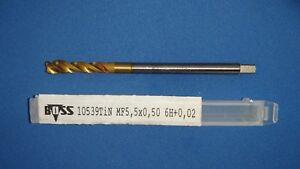 Feingewindebohrer MF5,5x0,5 Sackloch 6H+0,02 BOSS