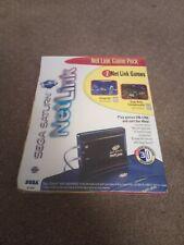 Sega Saturn Netlink Game pack Brand New Sealed