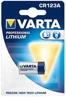 10 Stück Varta Fotobatterie Lithium CR123A / 3V / 6205