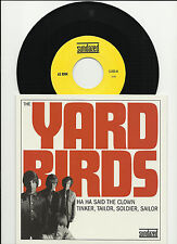 Jimmy page YARDBIRDS Ha ha Said /Tinker ONLY 2800 Made 7 INCH VINYL Jeff beck 45