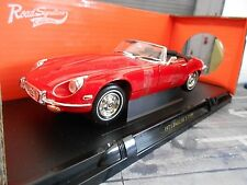 JAGUAR E-Type Roadster Series I 1 V12 red rot 1971 Cabrio Cabriolet Yaming 1:18