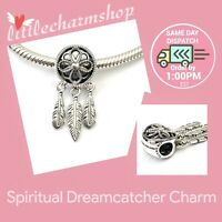 New Authentic Genuine PANDORA Silver Spiritual Dreamcatcher Charm - 797200