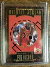 Michael Jordan -  1995-96 Upper Deck Predictor MVP No. R1