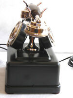 VERY RARE 2 DIAL PARTNER'S DESK TELEPHONE BY RIKSTELEFONEN HOLLAND EXC CONDITION