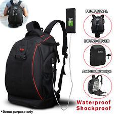 Large Digital Camera Bag Backpack SLR DSLR Case for Nikon Sony Canon Rucksack
